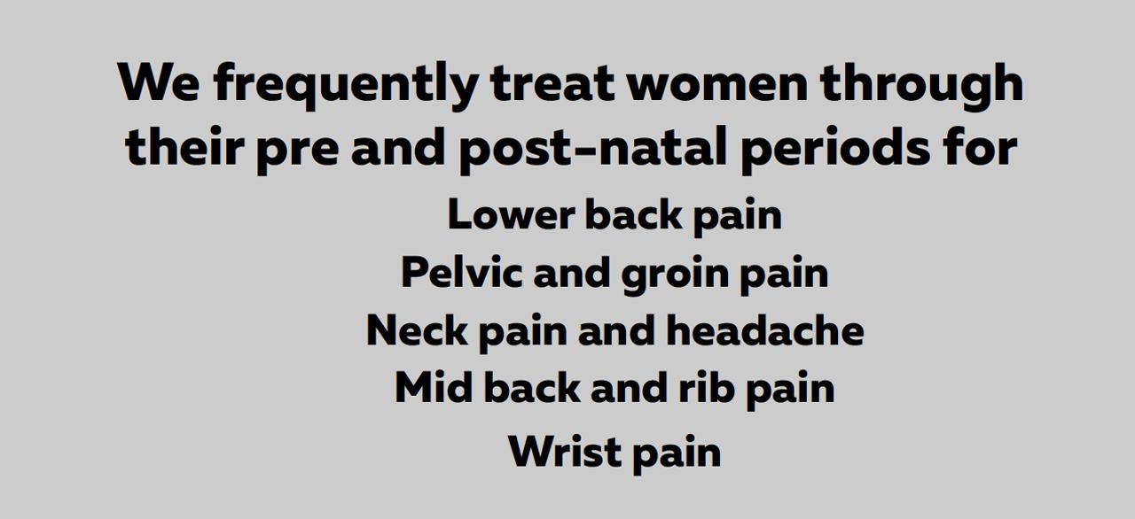 Pregnancy Osteopathy Kensington Flemington Ascot Vale