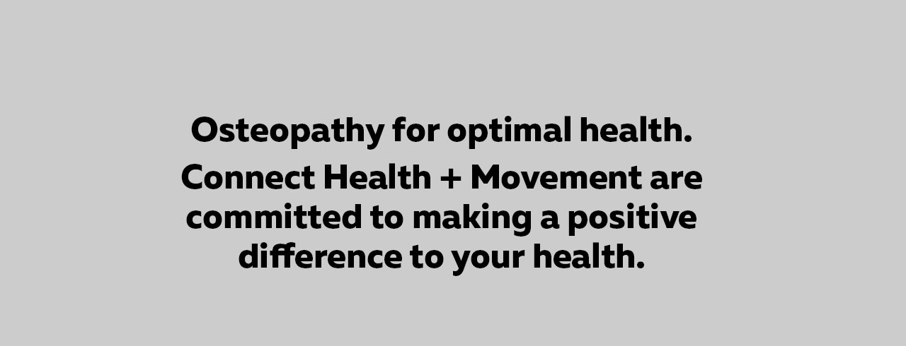 Osteopathy for optimal health.