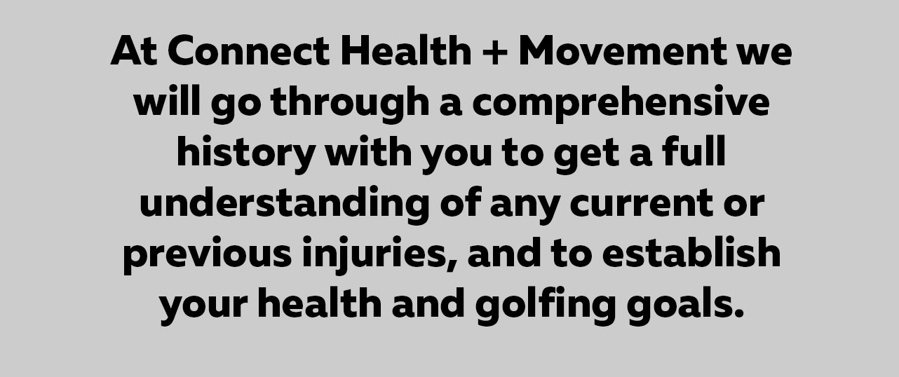 Golf Injury Osteopathy